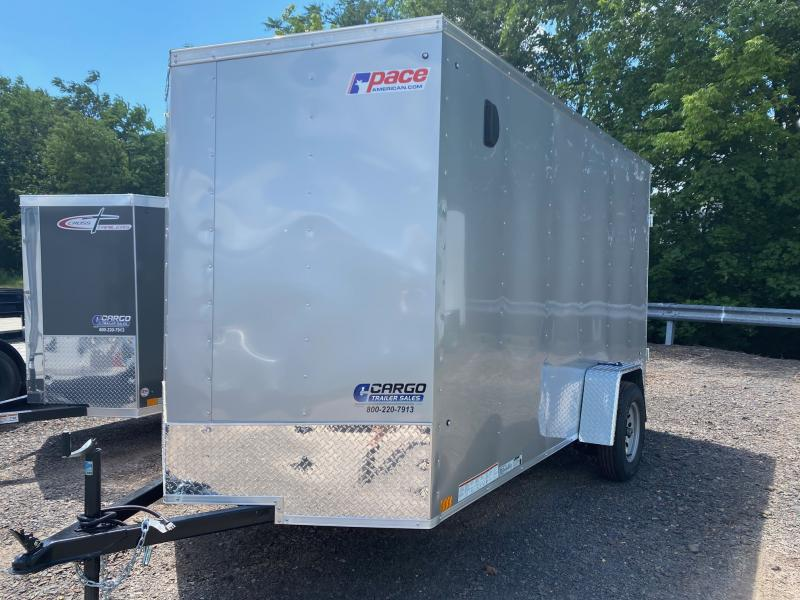 2022 Pace American OB 6X10 Enclosed Cargo Trailer