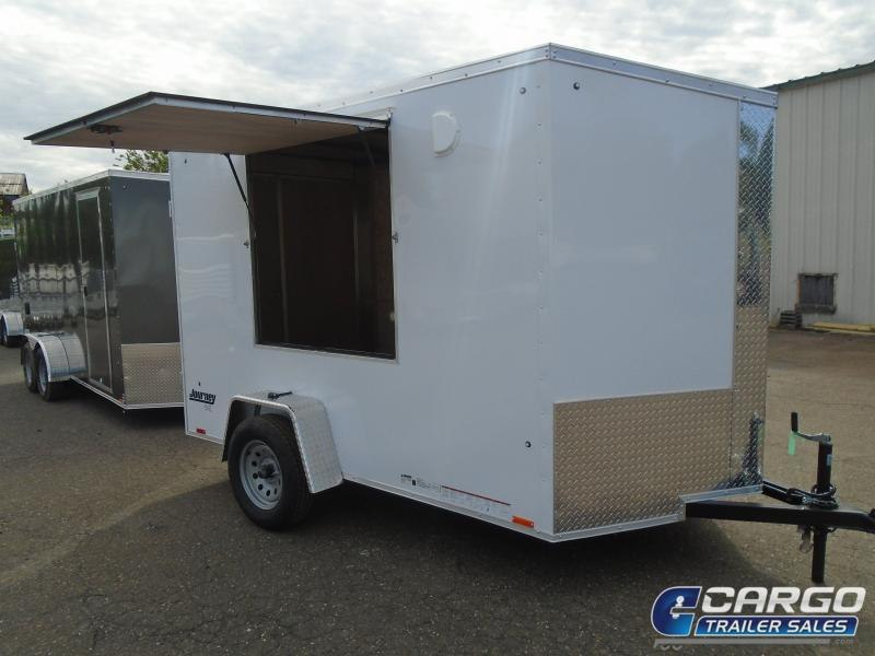 2021 Pace American JV 6 X 12 SI2 Enclosed Cargo Trailer