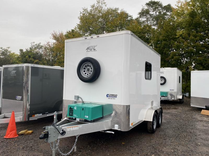 2021 Aluminum Trailer Company QSTAB7012+0-2T3.5K Enclosed Cargo Trailer