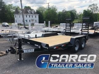 2020 Reiser Trailers ETX1414 Equipment Trailer