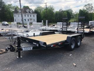 2020 Reiser Trailers ETX1414 Equipment Trailer
