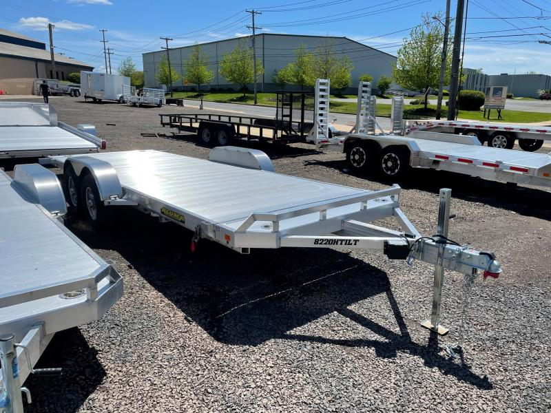 2022 Aluma 8220HTILT Car / Racing Trailer