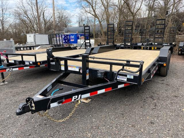 2020 PJ Trailers CC EQ 18 14K Equipment Trailer