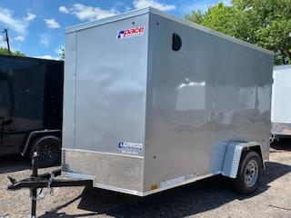 2022 Pace American OB6X10SI2DLX  Enclosed Cargo Trailer