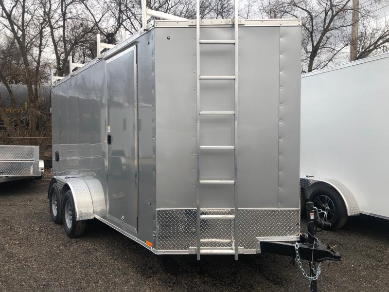 2021 Pace American OB 714 TE2 DLX Enclosed Cargo Trailer