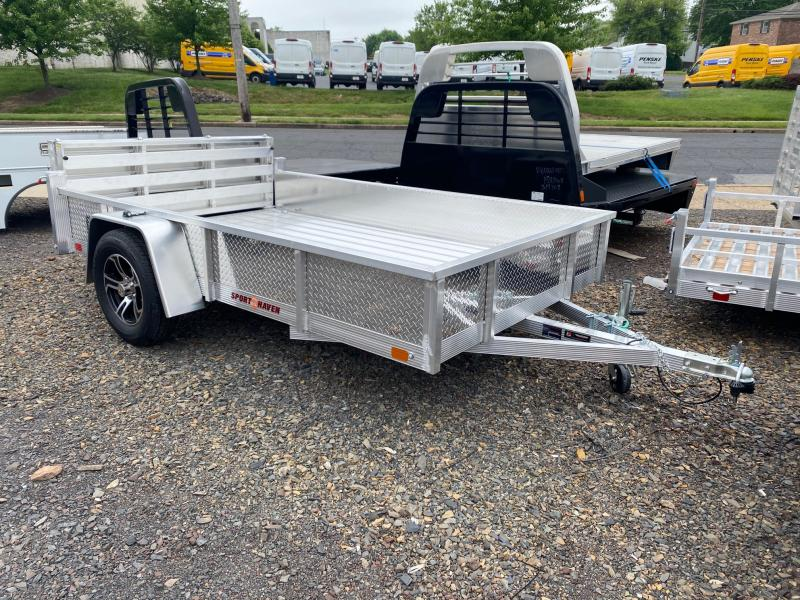 2021 Sport Haven AUT610DS-F Utility Trailer