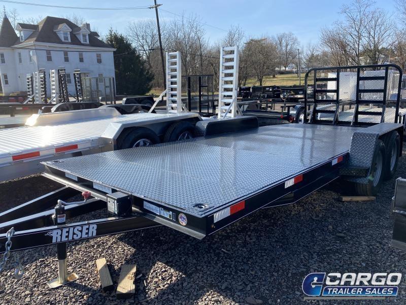 2020 Reiser Trailers DCH187K Car / Racing Trailer
