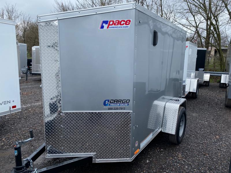 2021 Pace American JV 5X8 Enclosed Cargo Trailer