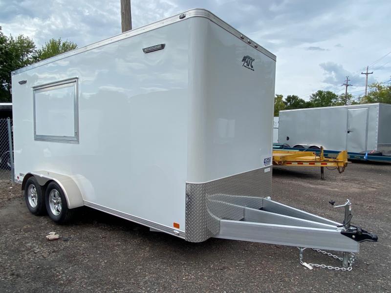 2021 Aluminum Trailer Company QSTAB7016 Enclosed Cargo Trailer