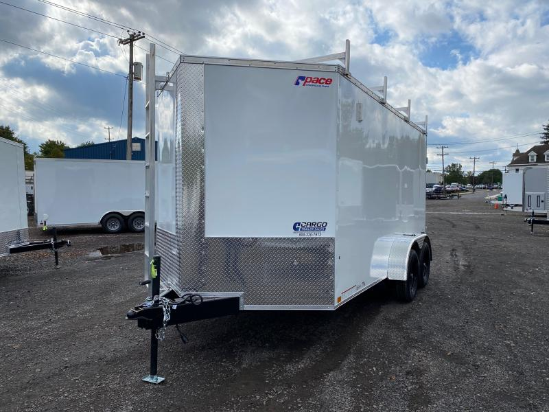 2021 Pace American JV714 Enclosed Cargo Trailer