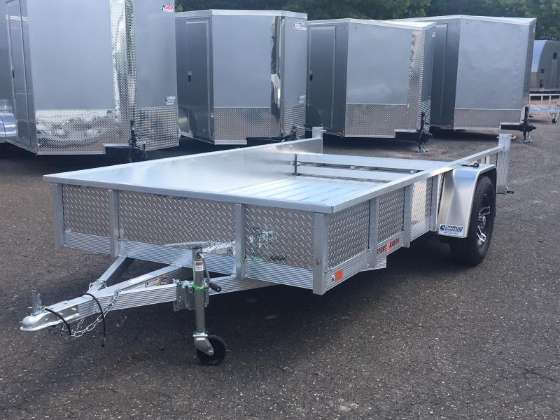2021 Sport Haven AUT612DS-F Utility Trailer