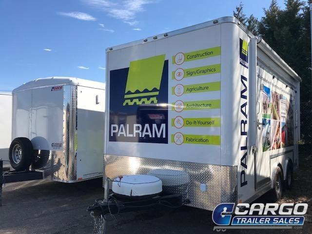20 Aluminum Trailer Company QSTAB8516+0-2T5.2K Enclosed Cargo Trailer