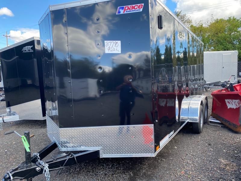 2022 Pace American OB 7x16 Enclosed Cargo Trailer