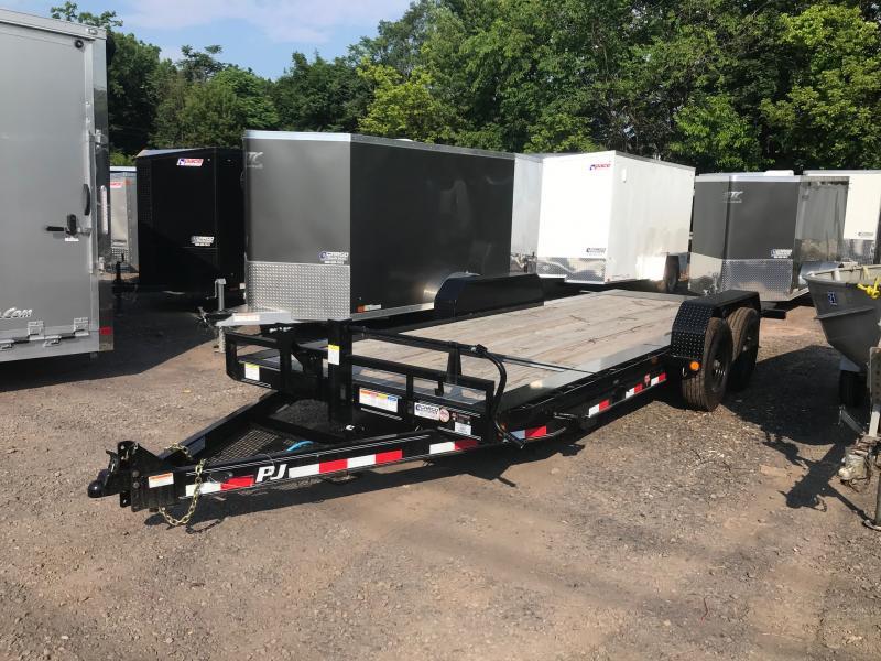 2020 PJ Trailers TJ EQ Tilt 20 Equipment Trailer