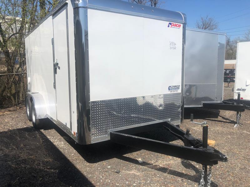 2022 Pace American JV7X16TE2SE Enclosed Cargo Trailer