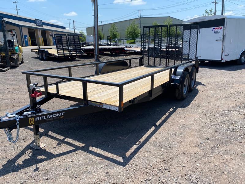 2020 Belmont Machine UT616TA-10K Utility Trailer