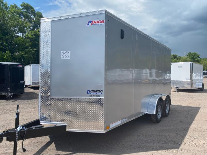 2021 Pace American JV 716 Enclosed Cargo Trailer