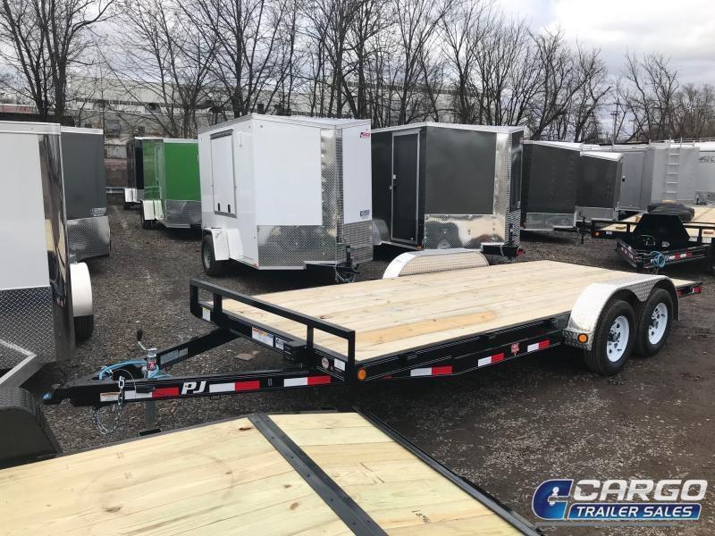 2020 PJ Trailers C5 Car Hauler Car / Racing Trailer