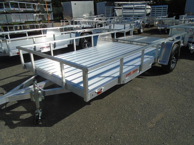 2021 Sport Haven AUT614D Utility Trailer