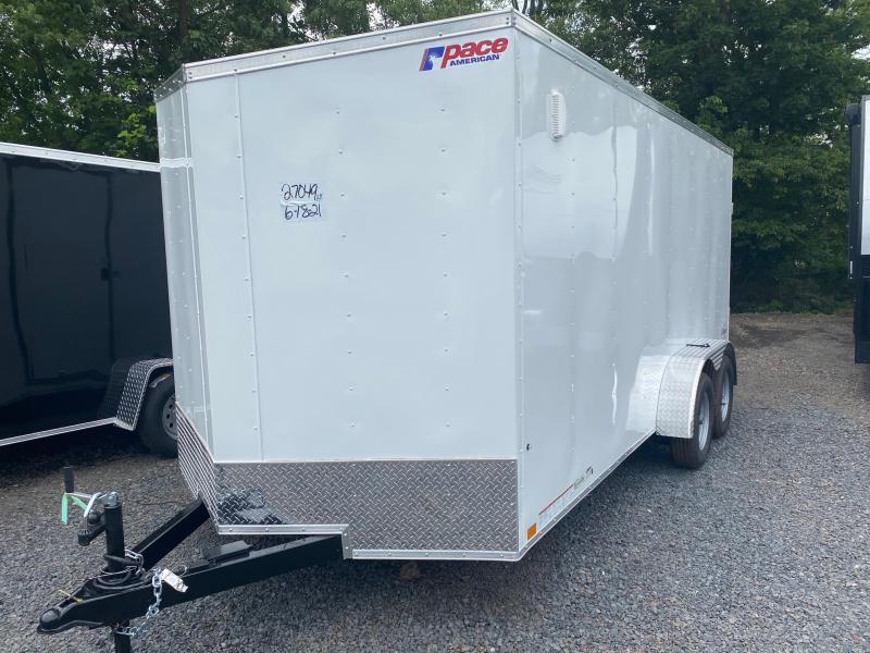 2022 Pace American OB 716 Enclosed Cargo Trailer