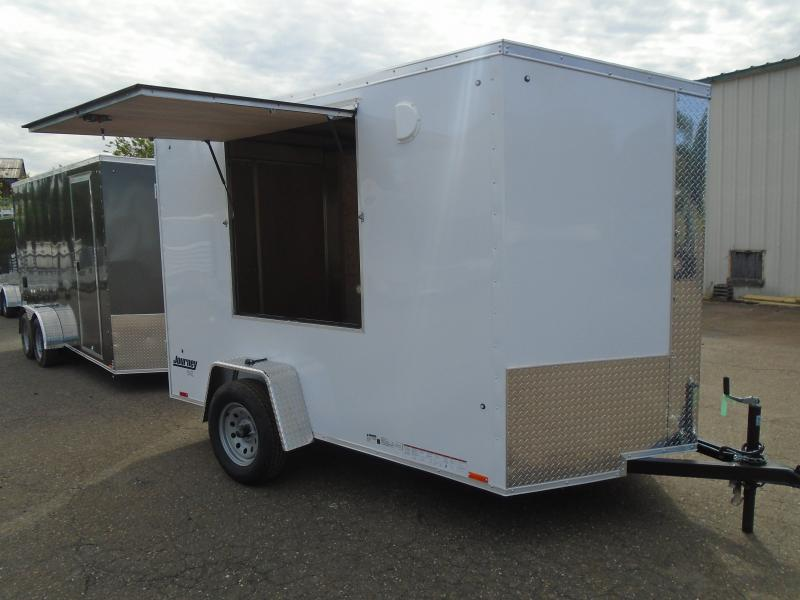2022 Pace American JV 6 X 12 SI2 Enclosed Cargo Trailer