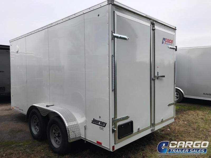 2021 Pace American JV 7X14 Enclosed Cargo Trailer