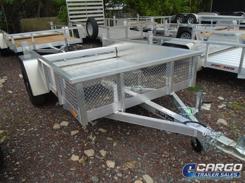 2021 Sport Haven AUT508DS-F Utility Trailer