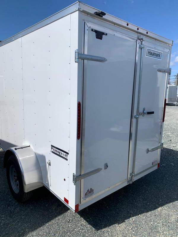 2020 Haulmark PASSPORT 6X10 BARN DOOR Cargo Trailer