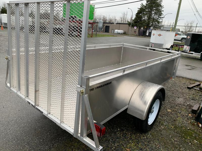 2021 Trailerman 5x10 Aluminum Landscape Utility Trailer All Parts Trailer Sales Offering Dump Equipment Boat Enclosed Utility Trailers For Sale In Bc Find Trailer Service Parts And Financing In Abbotsford