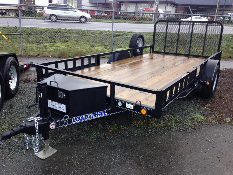"77""X14' SINGLE AXLE (4"" CHANNEL FRAME)"
