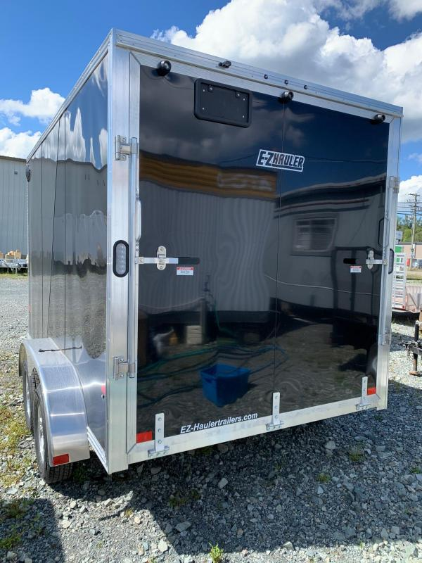 2021 E-Z Hauler 7x12 W/RAMP Enclosed Cargo Trailer
