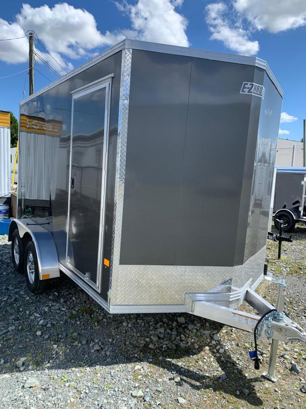 2021 E-Z Hauler 7x12 W/RAMP Enclosed Cargo Trailer