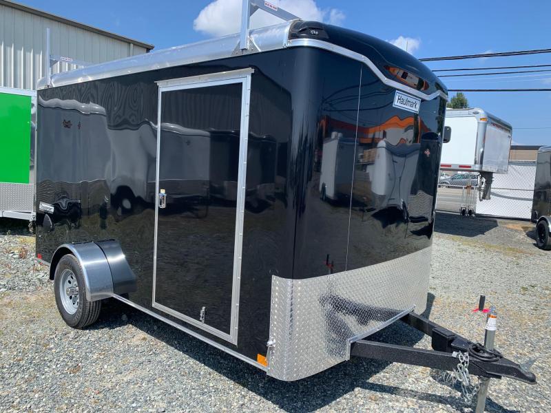 2021 Haulmark 7X12 TRANSPORT W/RAMP Enclosed Cargo Trailer