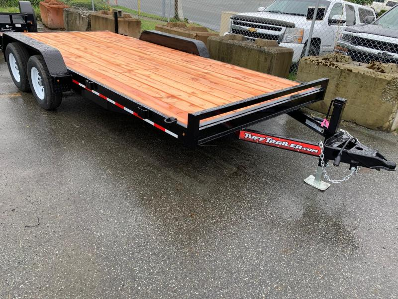 2020 Tuff Trailer 7x16 7000# CAR Trailer w/ Ramps