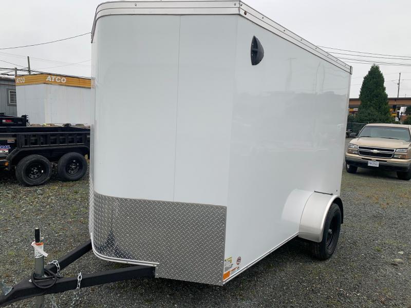 2020 Haulmark Transport 6x10 w/Ramp Enclosed Cargo Trailer