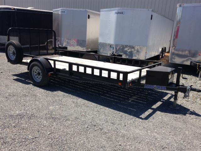 "LOAD TRAIL 77"" X 14' SINGLE AXLE ATV/UTV TRAILER"