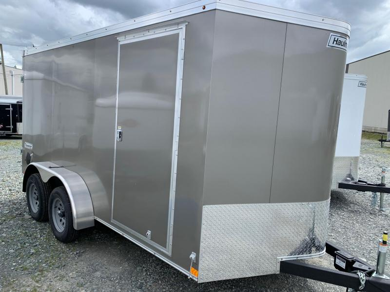 2020 Haulmark 7X14 TRANSPORT BARN DOORS Enclosed Cargo Trailer