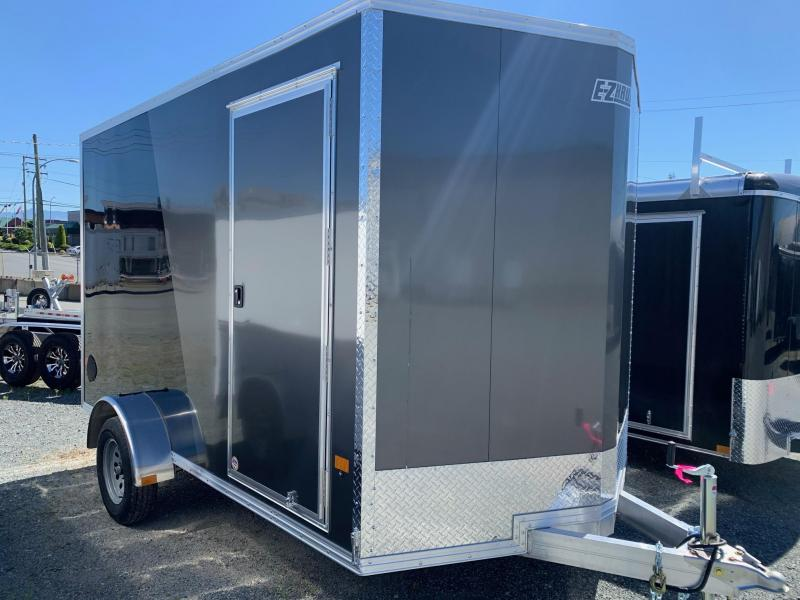 2021 E-Z Hauler 7X12 SINGLE AXLE W/RAMP-IF Enclosed Cargo Trailer
