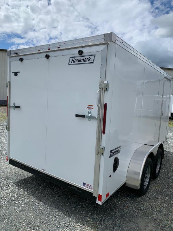 2020 Haulmark TRANSPORT 7X14 W/RAMP Enclosed Cargo Trailer