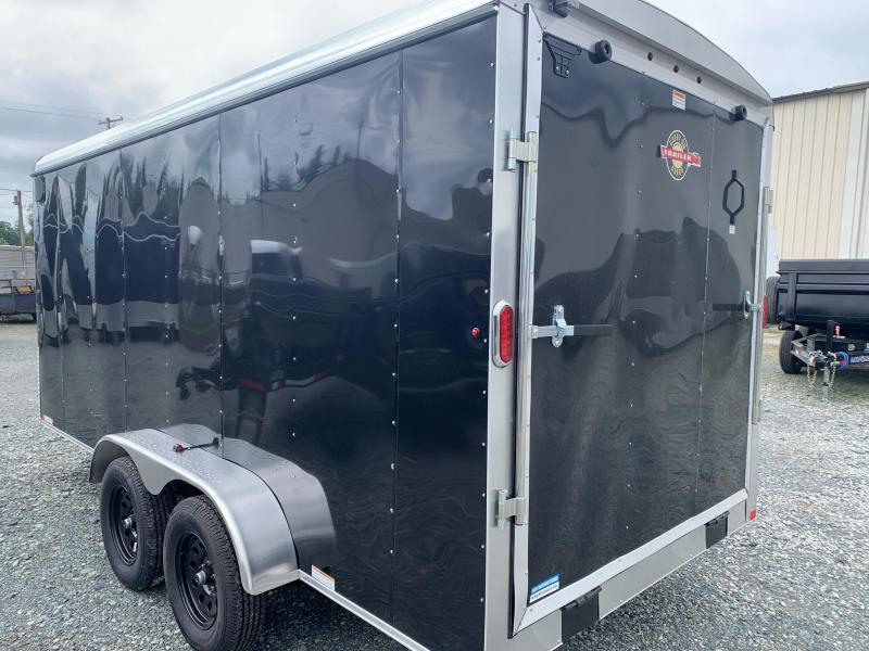 2021 Carry-On 7X16 W/RAMP Enclosed Cargo Trailer