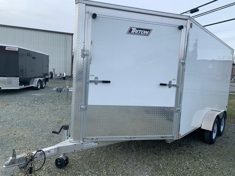 2019 Triton Trailers XT-147 Snowmobile Trailer