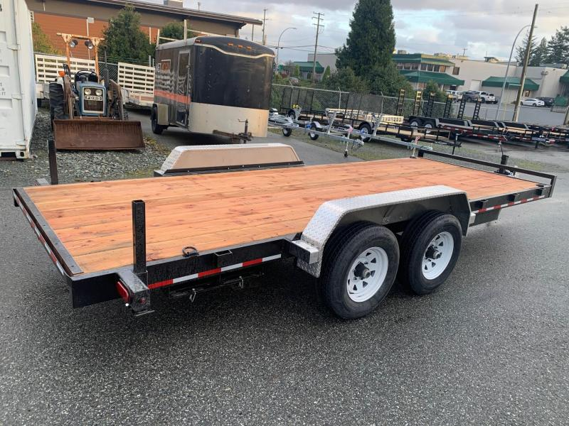 2021 Tuff Trailer 7x18' 10k Ramp Equipment Trailer