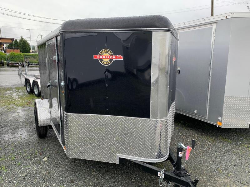 2020 Carry-On 6X10 V-NOSE RAMP Cargo Trailer