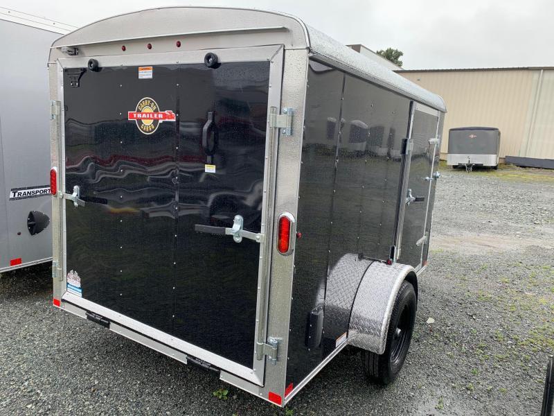 2020 Carry-On 6X10 V-NOSE RAMP Cargo Trailer