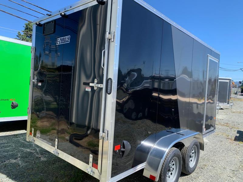 2021 E-Z Hauler 7X14 W/RAMP Enclosed Cargo Trailer