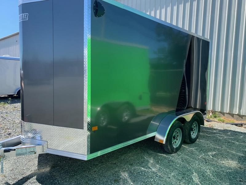 2021 E-Z Hauler 7X14 W/RAMP Enclosed Cargo Trailer