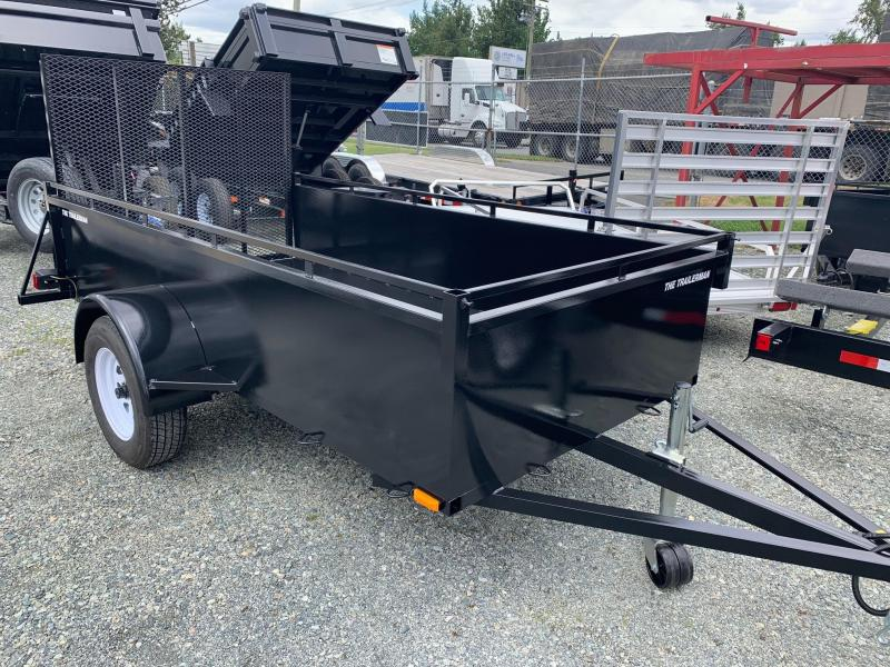 2021 Trailerman . 5X10 STEEL LANDSCAPE Utility Trailer