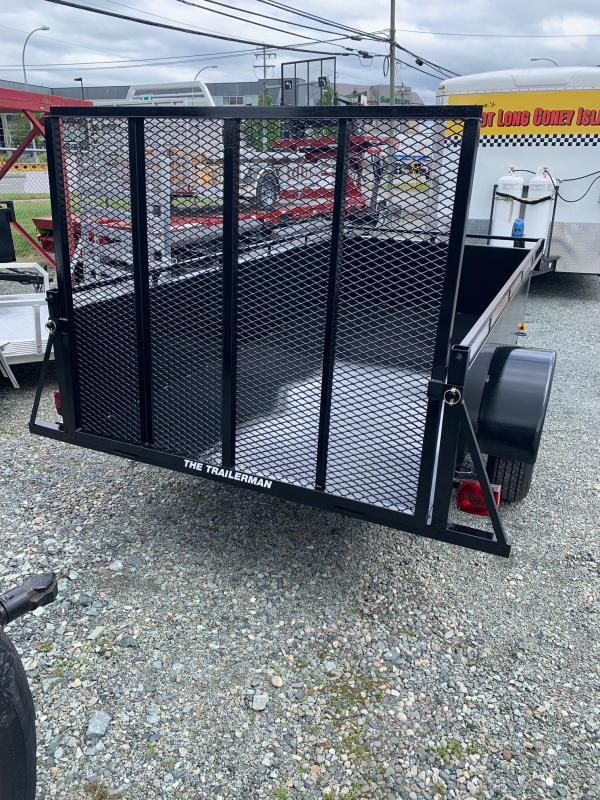 2019 Trailerman . 5X10 STEEL LANDSCAPE Utility Trailer