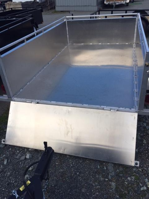 2021 Trailerman 5x8 Aluminum Box Utility Trailer
