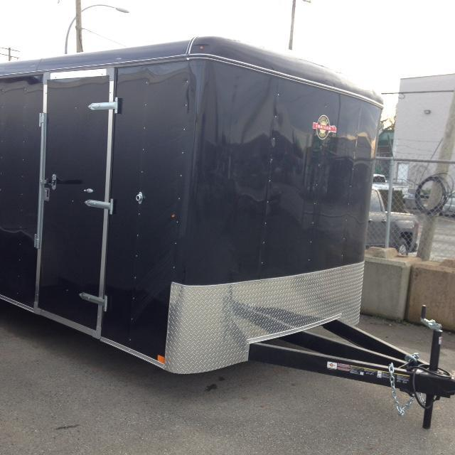 2021 Carry-On 8.5X16 Ramp Enclosed Cargo Trailer